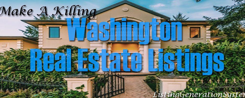 Washington Real Estate Listings